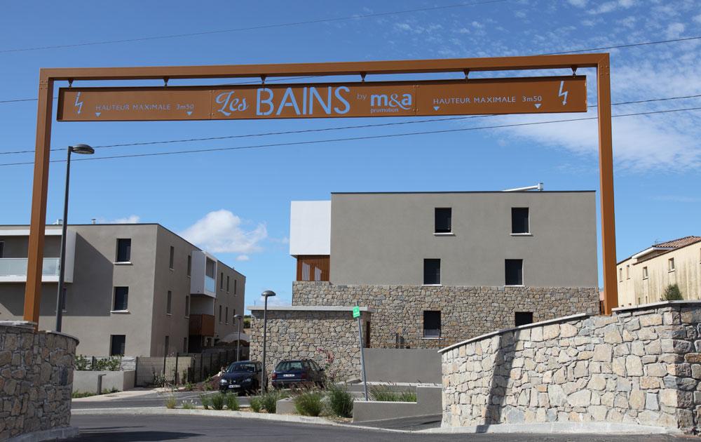cros delmas residence bains portail