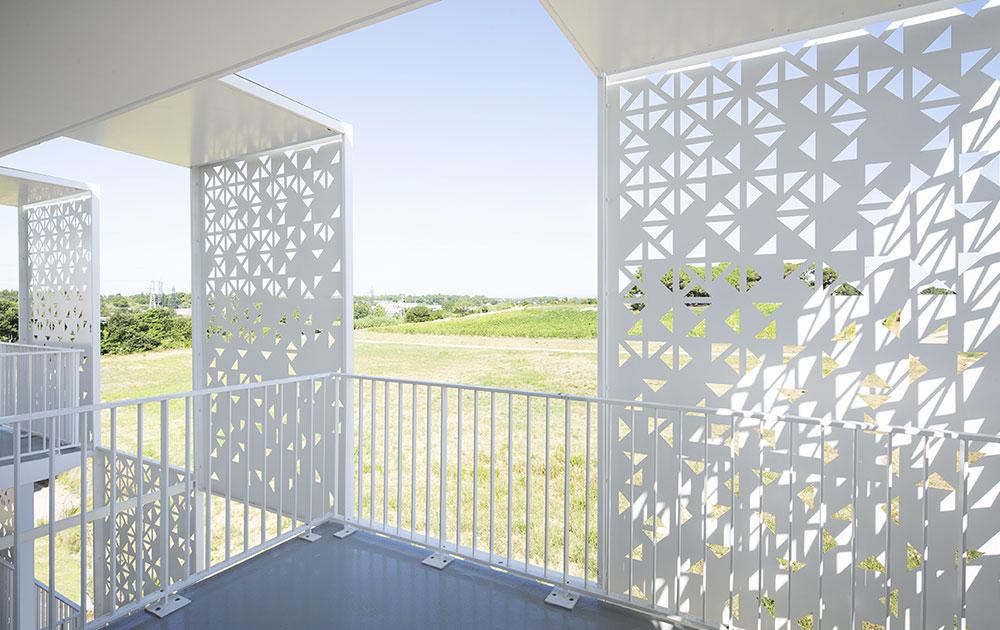 cros delmas origami balcons